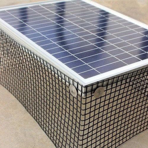 bird proof solar panels